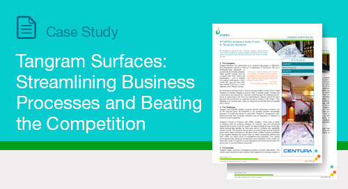 Tangram Surfaces: Streamlining Business Processes and Beating the Competition