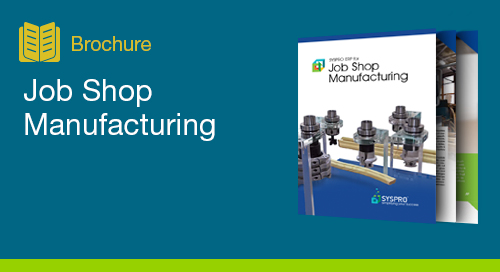 Job Shop Manufacturing