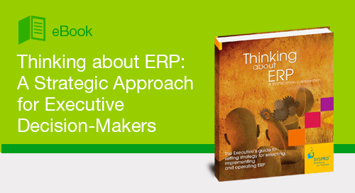Thinking about ERP: A Strategic Approach for Executive Decision-Makers