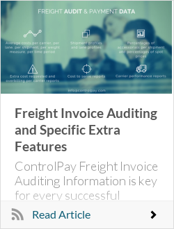Freight Invoice Auditing and Specific Extra Features