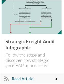 Strategic Freight Audit Infographic