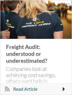 Freight Audit: understood or underestimated?