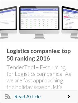 Logistics companies: top 50 ranking 2016