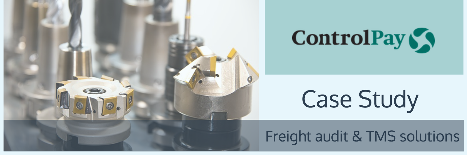 Controlpay. Freight Audit: International manufacturer case study
