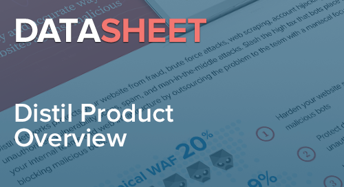 Distil Product Overview | Data Sheet