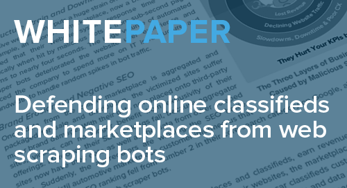 Defending Online Classifieds and Marketplaces from Web Scraping Bots