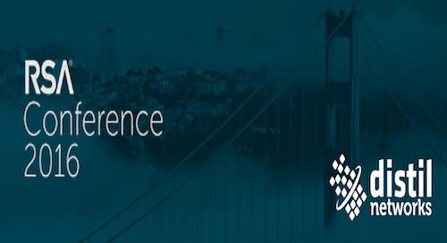 Distil Networks at 2016 RSA conference