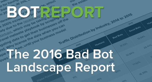 2016 Bad Bot Report