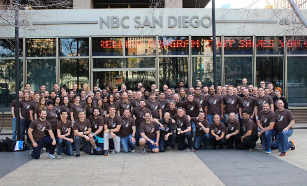 Distil Networks Turns Five Group Photo