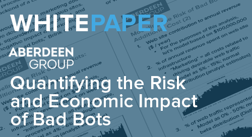 Quantifying the Risk and Economic Impact of Bad Bots