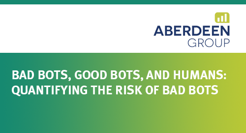 Aberdeen Monte Carlo Model Assessing the Risk of Bad Bots To Your Business