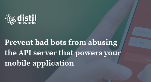 Bot Detection And Defense For Mobile Apps | Data Sheet