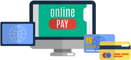online pay options