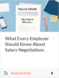 What Every Employer Should Know About Salary Negotiations