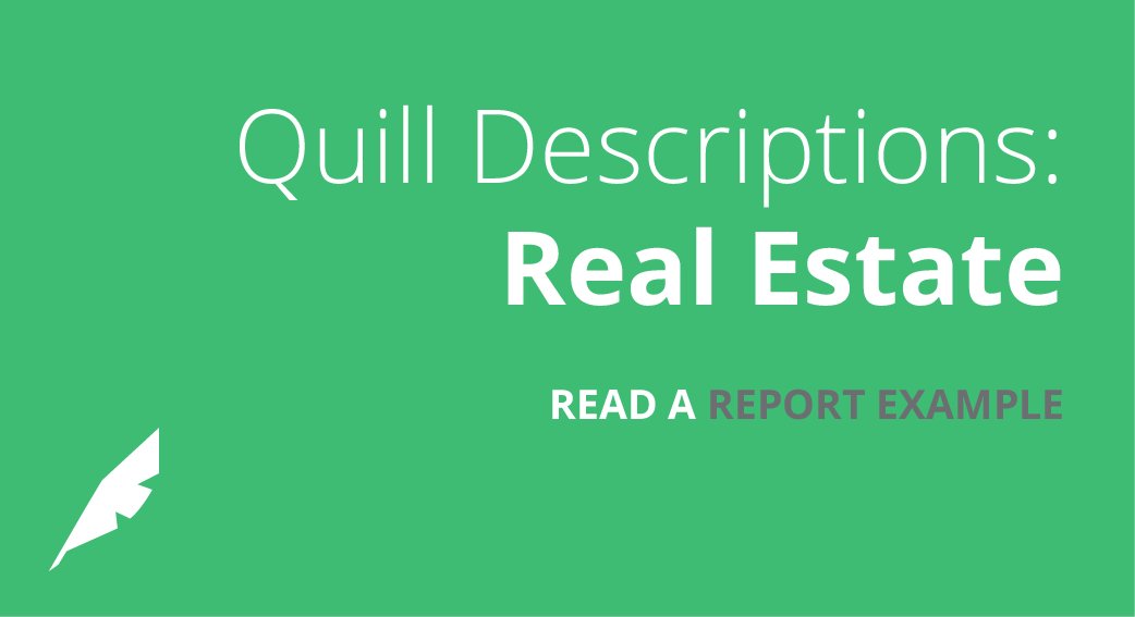 Descriptions: Real Estate