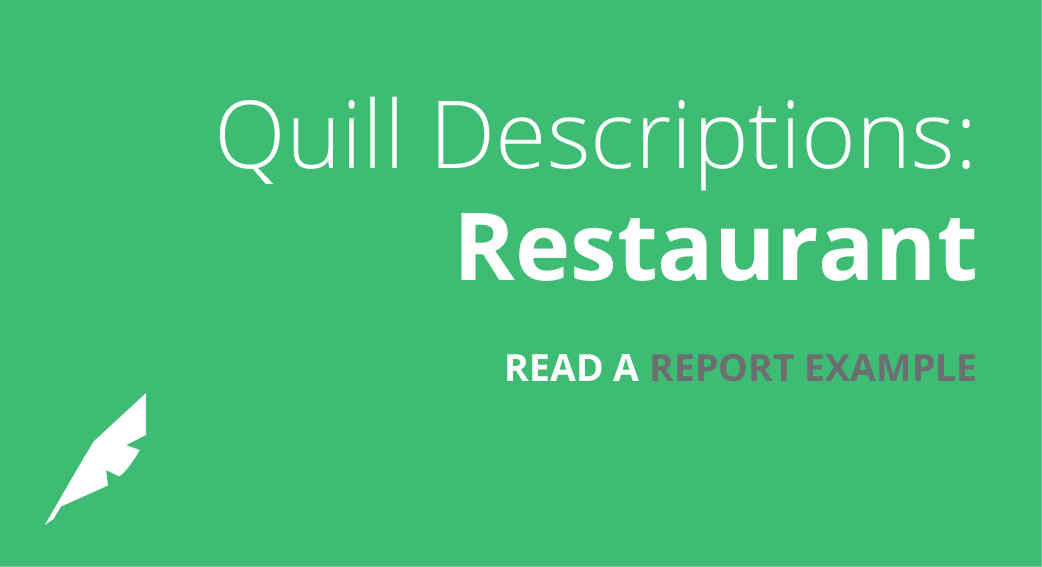 Descriptions: Restaurant