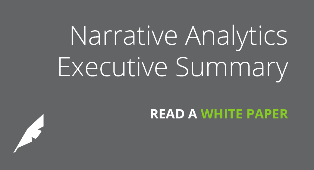 Narrative Analytics Executive Summary