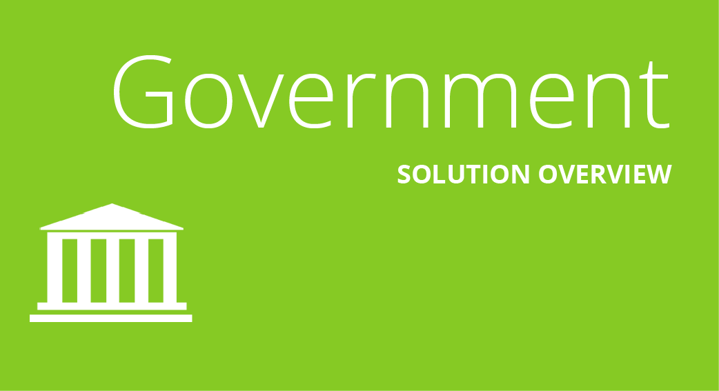Government Solution Overview