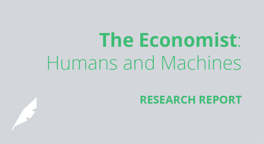 The Economist: Humans and Machines Research Report