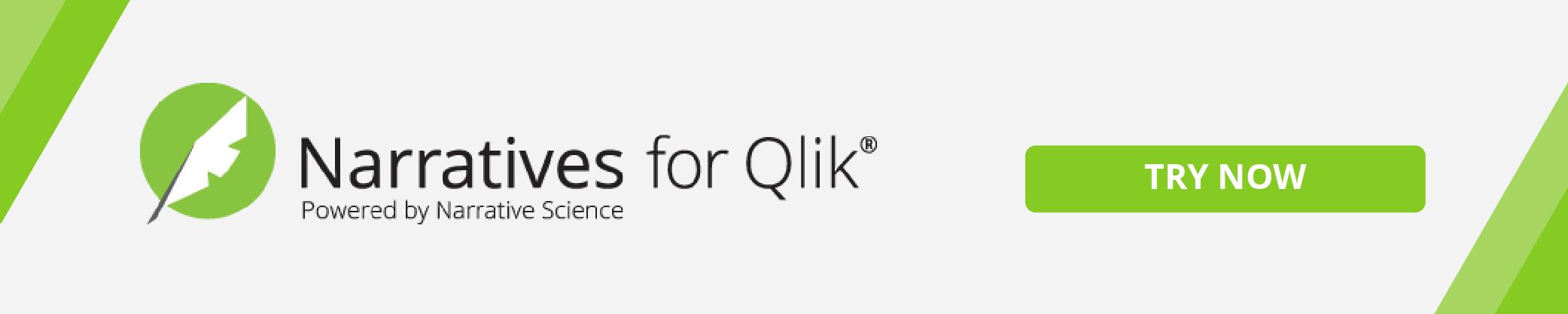 Narratives for Qlik