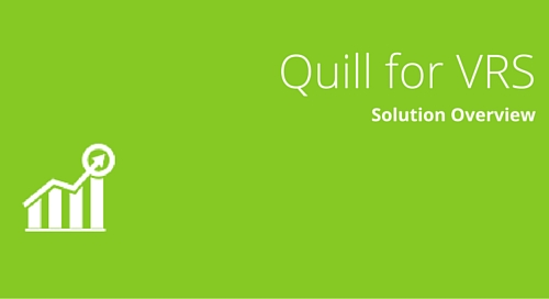 Quill for Vermilion Reporting Suite Solution Overview