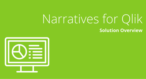 Narratives for Qlik Solution Overview
