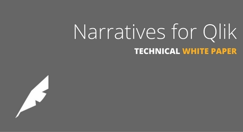 Narratives for Qlik Technical White Paper