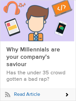 Why Millennials are your company's saviour
