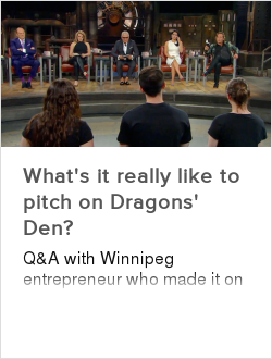 What's it really like to pitch on Dragons' Den?
