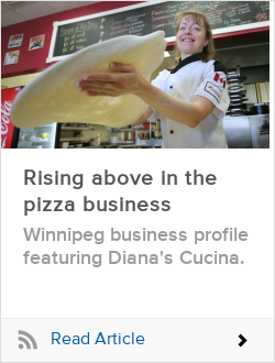 Rising above in the pizza business