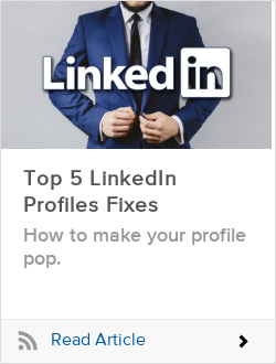 Top 5 LinkedIn Profiles Fixes