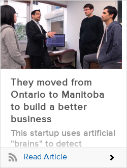 They moved from Ontario to Manitoba to build a better business