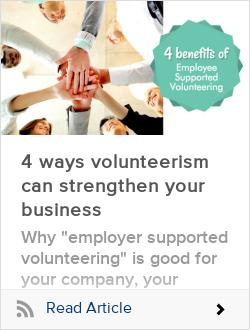 4 ways volunteerism can strengthen your business