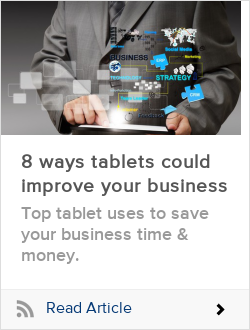8 ways tablets could improve your business