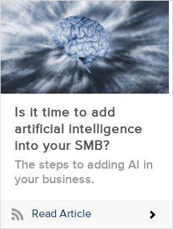 Is it time to add artificial intelligence into your SMB?