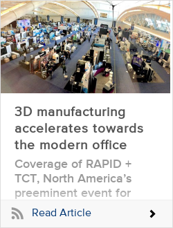 3D manufacturing accelerates towards the modern office
