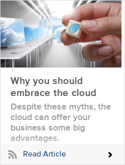 Why you should embrace the cloud
