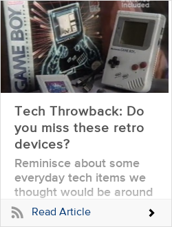 Tech Throwback: Do you miss these retro devices?