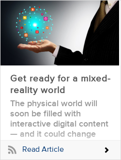 Get ready for a mixed-reality world