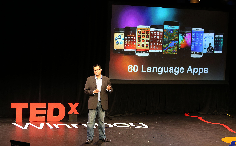Darrick Baxter TEDx Winnipeg