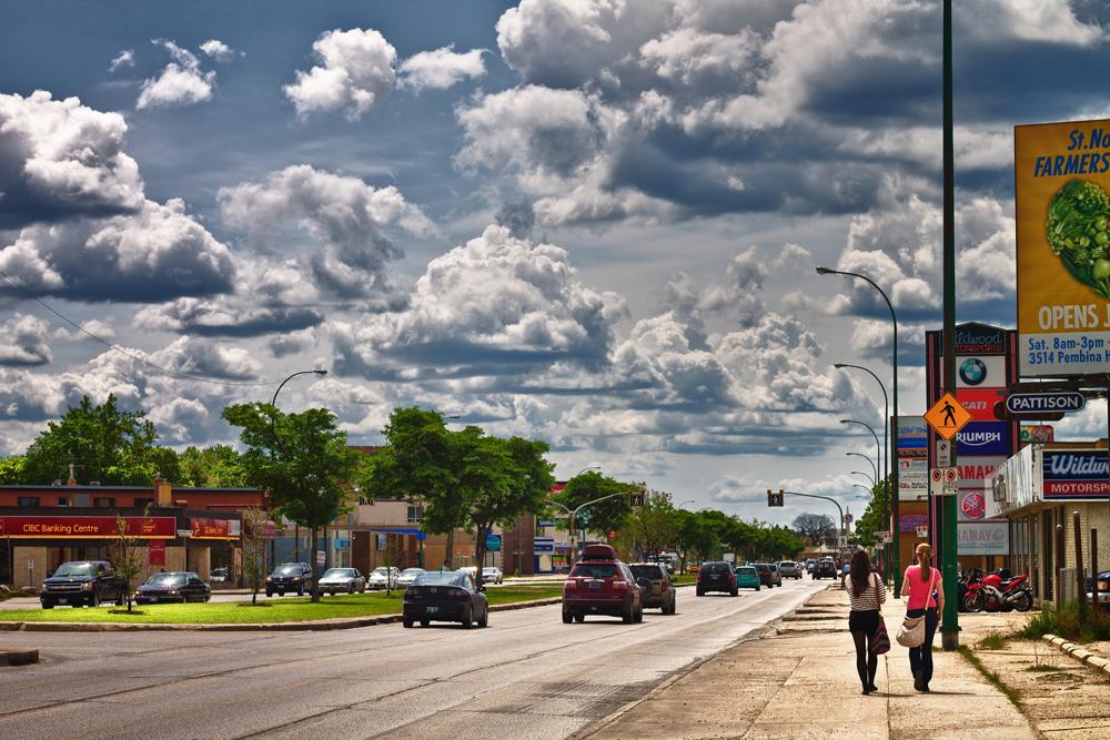 Winnipeg clouds by AJ Batac