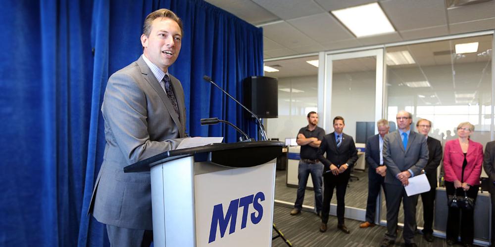 Ryan Klassen MTS Data Centres Winnipeg