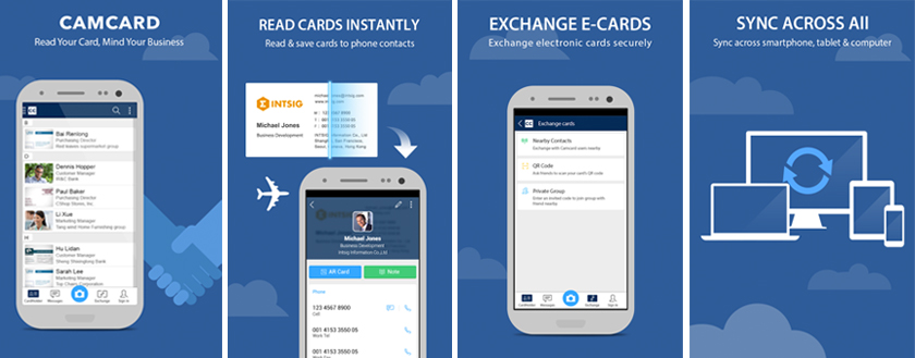 CamCard app for Android