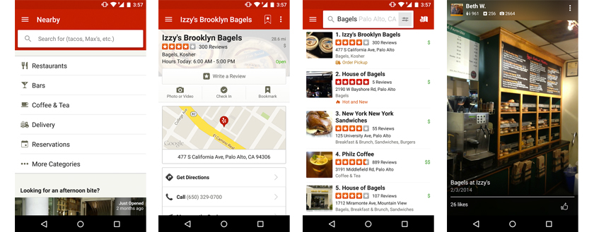 Yelp for Android