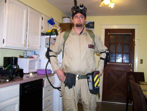 Ghostbusters Halloween costume