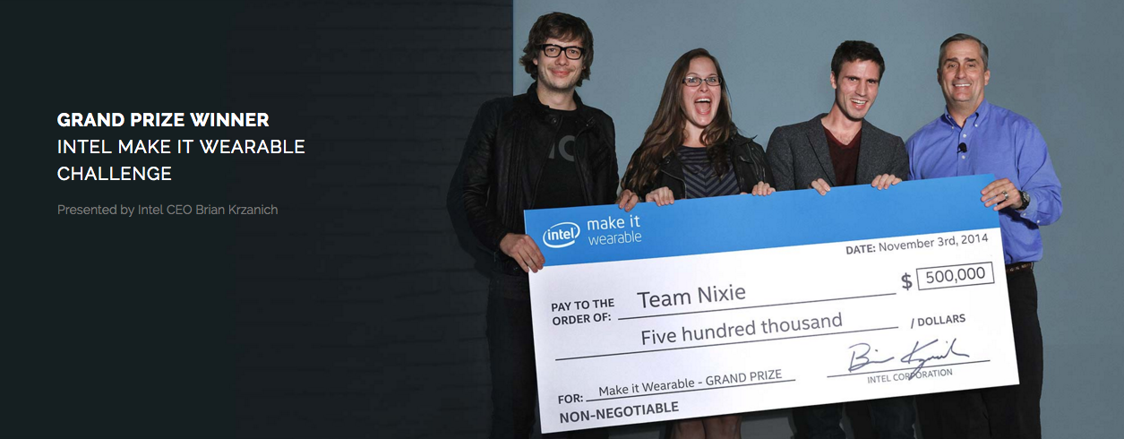 Intel Make It Wearable Challenge - Nixie