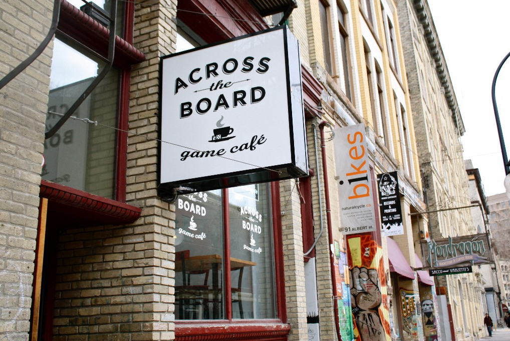 Across the Board Game Cafe - Winnipeg Meeting Locations