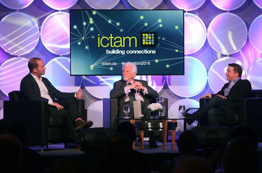 ICTAM The Innovators ft. Aaron Zifkin (Airbnb), Martin Cooper & Marc Saltzman