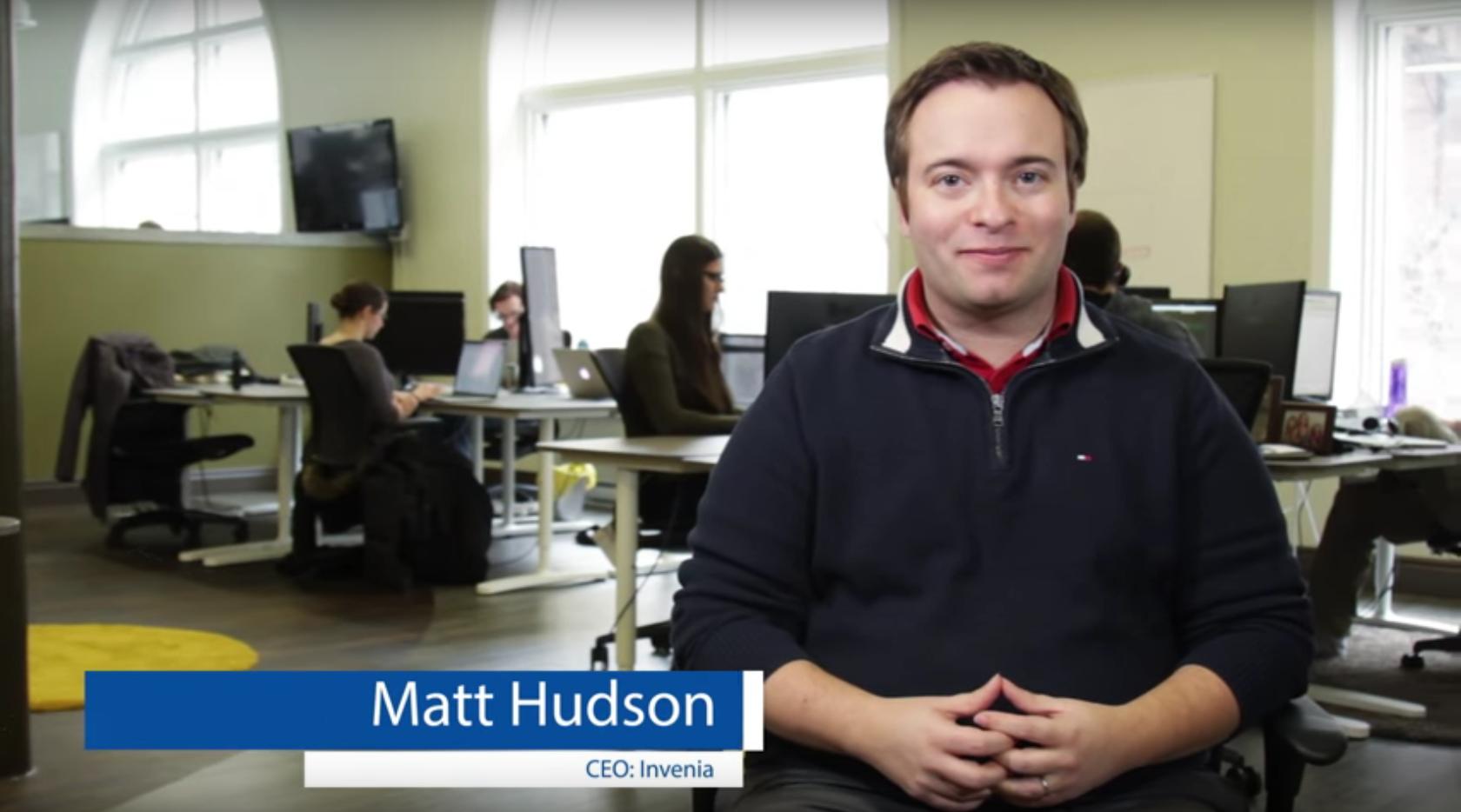 Matt Hudson, CEO of Invenia in Winnipeg, Manitoba