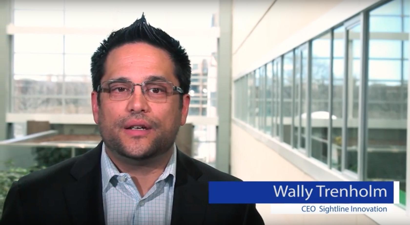 Wally Trenholm CEO Sightline Innovation Winnipeg Manitoba